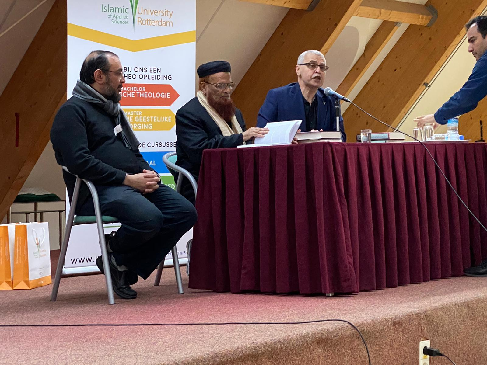 Lecture at Islamic University (Rotterdam)