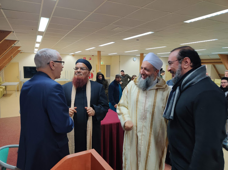 At the Islamic University (Rotterdam)