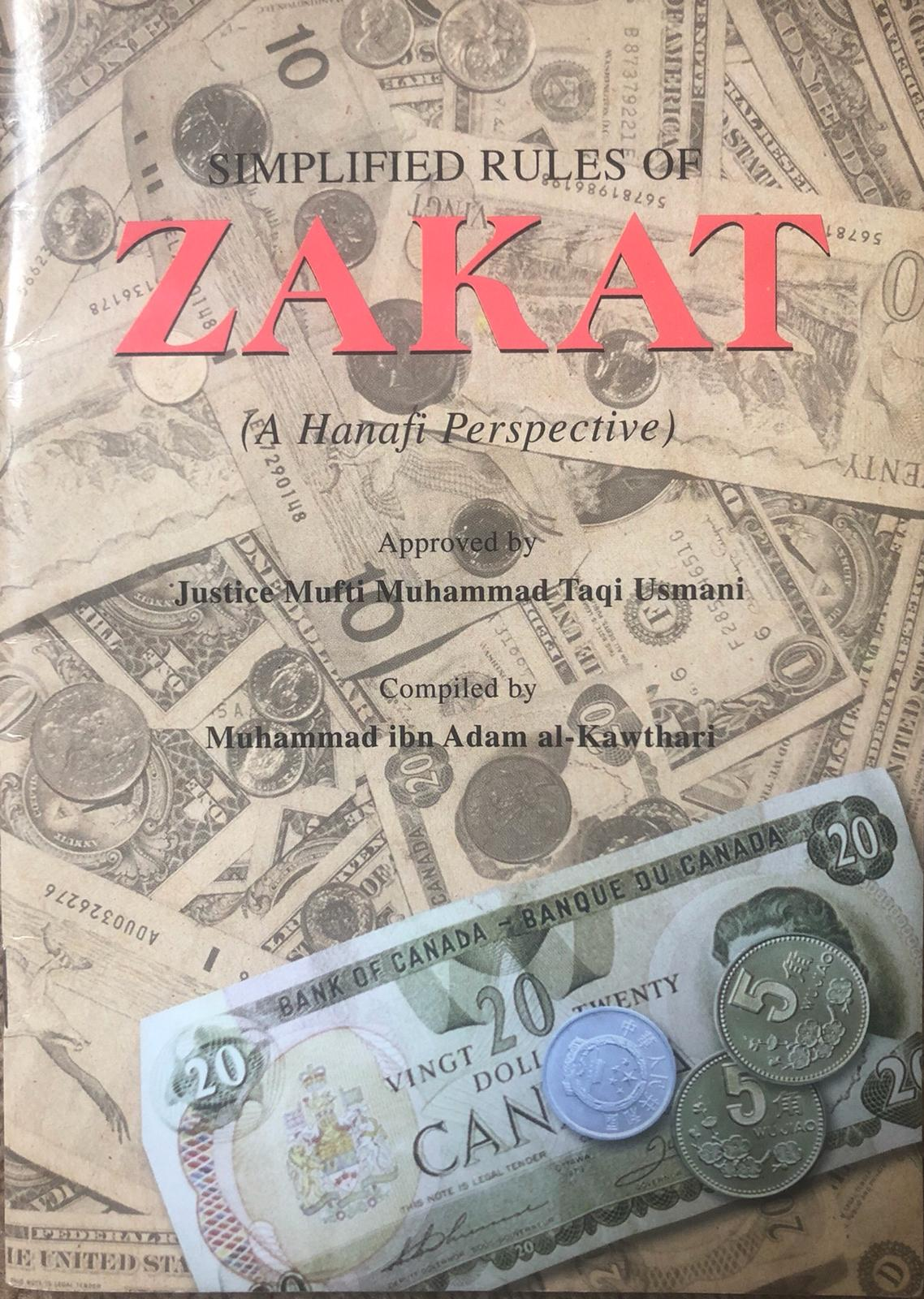 Simplified Rules of Zakat